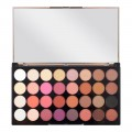 Makeup Revolution Paleta 32 Cieni Flawless 4-5057566008341
