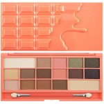 Makeup Revolution Chocolate and Peaches Paleta Cieni do Powiek
