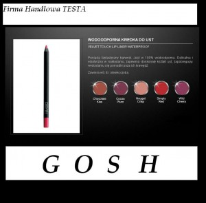 WODOODPORNA KREDKA DO UST VELVET TOUCH LIP LINER WATERPROOF