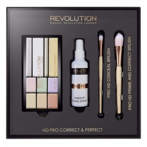 Makeup Revolution HD Pro Correct & Perfect Zestaw do makijażu