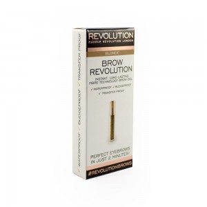 Makeup Revolution Brow Revolution Żel do brwi Blonde 3.8 g