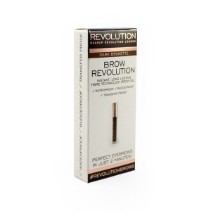 Makeup Revolution Brow Revolution Żel do brwi Dark Brunette 3.8 g