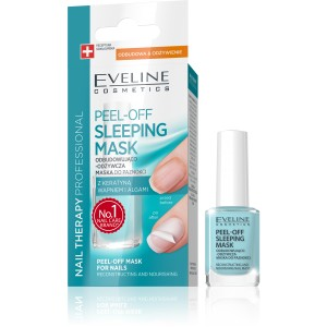 Eveline Nail Therapy Peel-off Sleeping Mask Maska do paznokci 12 ml
