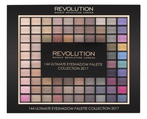 Makeup Revolution 2017 Collection Palette 144 Zestaw cieni do powiek