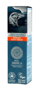Natura Siberica Faroe Islands modelujące serum do ciała 75 ml