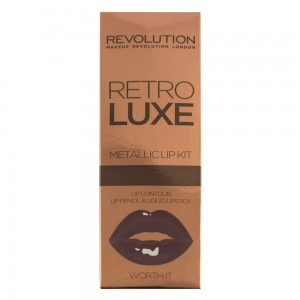 Makeup Revolution Retro Luxe Kit Metalic Worth It
