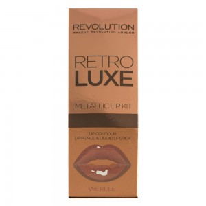 Makeup Revolution Retro Luxe Kit Metalic We Rule