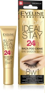 Eveline Ideal Stay 24h Baza pod cienie 8w1 12 ml