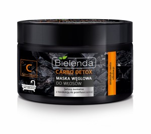 Bielenda Carbo Detox Maska do włosów 300 ml