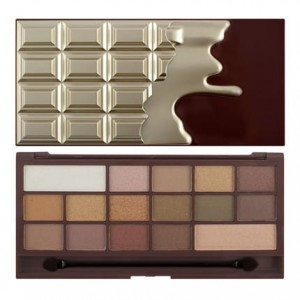 Makeup Revolution Chocolate Golden Bar Paleta Cieni do Powiek