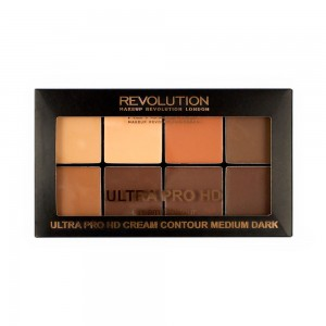 Makeup Revolution Ultra Pro HD Medium Dark Zestaw kremowych pudrów 20 g