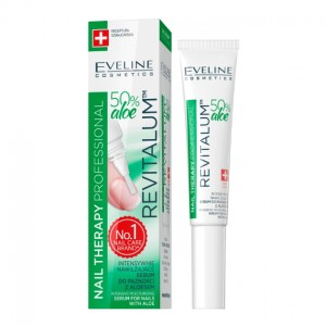 Eveline Nail Therapy Professional Serum do paznokci z aloesem Revitalum 8 ml