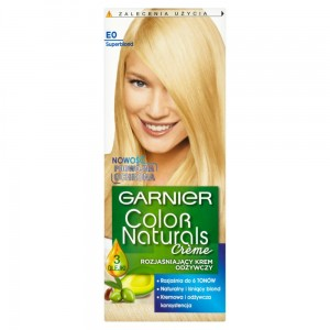 Garnier Color Naturals farba do włosów rozjaśniacz Super Blond E0