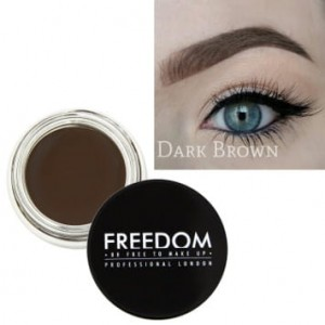 FREEDOM Pomada do brwi Dark Brown 2,8 g