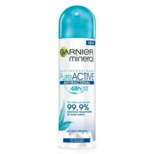 Garnier Mineral Pure Active Antibacterial Actives Dezodorant 150 ml
