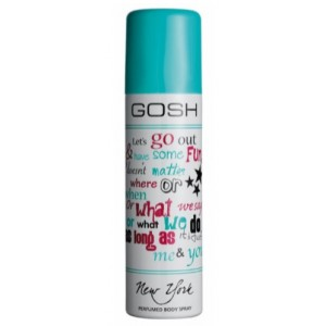Gosh New York Dezodorant Perfumowany w spray-u 150 ml