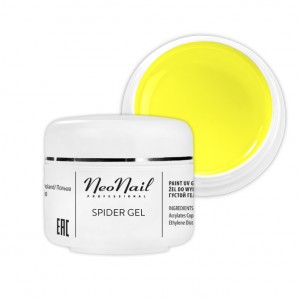 Neonail Spider Gel Neon Yellow 5 g