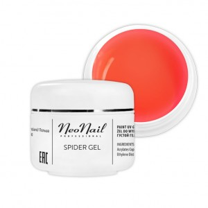 Neonail Spider Gel Neon Orange 5 g