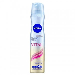 Nivea Hair Care Styling lakier do włosów cienkich Vital Care 250 ml