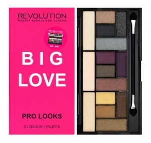 Makeup Revolution Big Love Paleta cieni do powiek