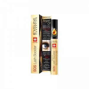 Eveline Sos Lash Booster With Argan Oil 5in1 Serum do rzęs 10 ml