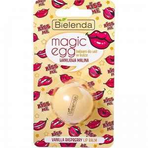 Bielenda Magic Egg Lip Balm Balsam do ust w kulce waniliowa malina 8,5g