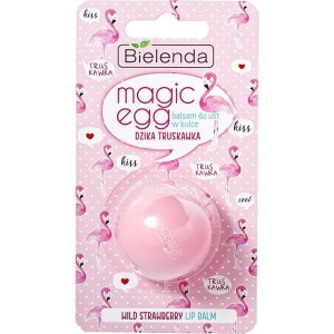 Bielenda Magic Egg Lip Balm Balsam do ust w kulce truskawka 8,5g