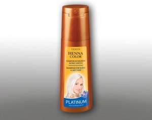 Venita Szampon Henna Color Platinum do siwych i blond 250 ml