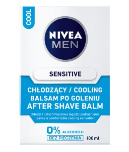 Nivea Men Sensitive Cool Chłodzący Balsam po goleniu 100 ml