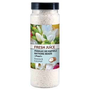 Fresh Juice Perełki do kąpieli freesia & coconut 450 g