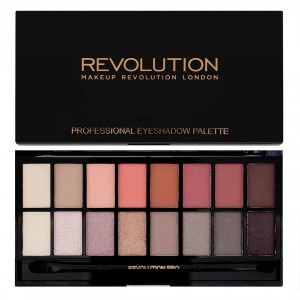 Makeup Revolution New-Trals vs Neutrals Paleta Cieni do Powiek