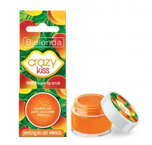 Bielenda Crazy Kiss Peeling do ust mango 15 g