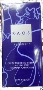 Gosh Kaos by men edt 50 ml