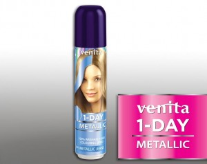 VENITA 1 Day Color Spray jednodniowy Metalic Jeans