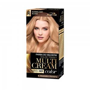 Joanna Multi Cream Color Farba do Włosów Karmelowy blond 30 40 g