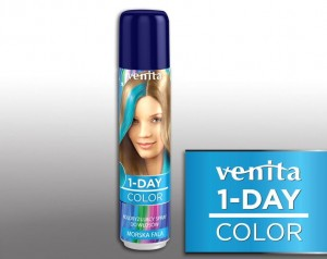 VENITA 1 Day Color Spray jednodniowy Morska Fala