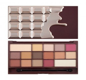 Makeup Revolution Chocolate Elixir Paleta Cieni