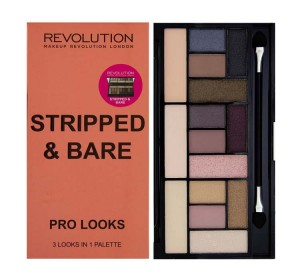 Makeup Revolution Paleta 15 Cieni Stripped & Bare