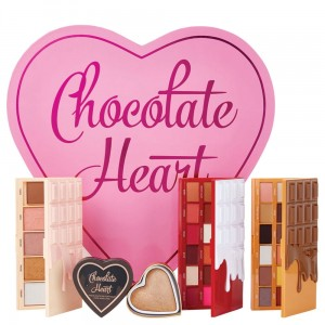 Makeup Revolution I Heart Revolution Zestaw Chocolate Heart