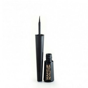 Makeup Revolution Eyeliner w Płynie Ultra Black