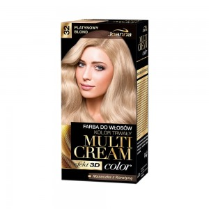 Joanna Multi Cream Color Farba do Włosów Platynowy blond 32 40 g