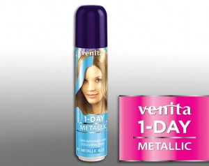 VENITA 1 Day Color Spray jednodniowy Metalic Blue