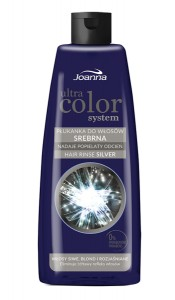 Joanna Ultra Color płukanka do włosów Srebrna 150 ml