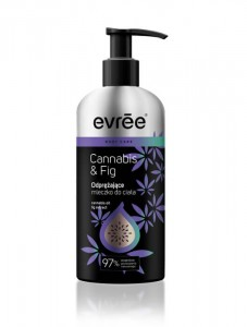 Evree Cannabis & Fig Mleczko Do Ciała 250 ml
