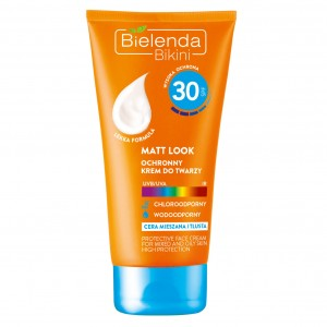 Bielenda Bikini Krem do twarzy SPF 30 Matt Look 50 ml