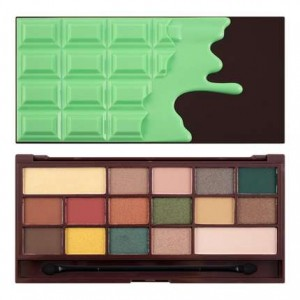 Makeup Revolution Mint Chocolate Paleta Cieni