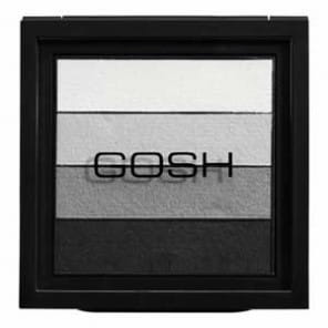 GOSH Smokey Paleta Cieni do powiek 01 kolor Black