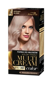 Joanna Multi Cream Color Farba do Włosów Różany Blond 31.5 40 g