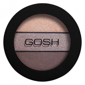GOSH Eyelight Trio Cienie do powiek 003 Chunky Chocolate-5711914042820