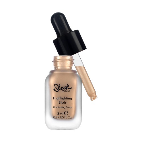 Sleek Highlighting Elixir Poppin' Bottles Champagne Płynny rozświetlacz 8 ml-5029724140392